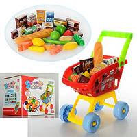 Тележка-супермаркет с продуктами 23001A