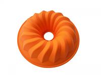 Силиконовая форма для выпечки и желе Кекс большой 26*6,7 см