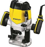Фрезер STANLEY STRR1200, 1200 Вт, 8000 - 27000 об / хв, макс. занурення 55мм, рег-ка швидкості, аксесуари.