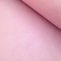 Бязь однотонная бледно-розового цвета 125 г/кв.м (№40)