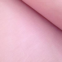 Бязь однотонная нежно розового цвета 125 г/м2 № 425