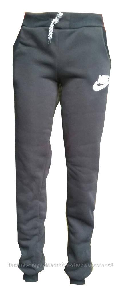 Женские спортивные штаны на флисе манжет