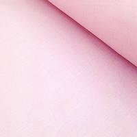 Однотонная бязь польская светло-розовая  220 см135 г/кв.м №320