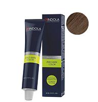 Безаммиачная крем-краска для волос Indola Zero Amm Color 5.0 Светлый коричневый натуральный, 60 мл