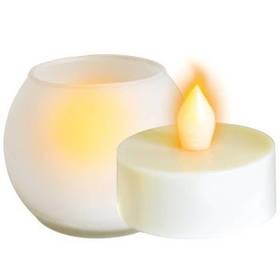 Светодиодный светильник декоративный Delux TF-100 мерцающая свеча Код.57318