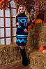 Вязаная женская туника, платье Диамант в расцветках