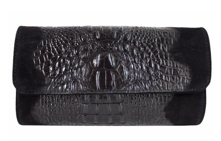 6bce6bcb9b92 Женская кожаная сумка клатч BC504 черная — купить в Киеве недорого