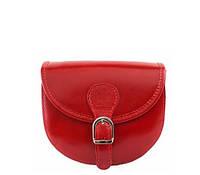 Женская кожаная сумочка BC303 красная