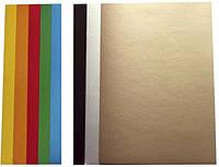 Картон цветной, 9 листов (7+золото, серебро), А4