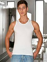Мужская майка (высокая плотность) (Белый)