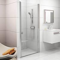 Душевые двери Ravak Chrome 80 см CSD1-80 полированный алюминий+transparent 0QV40C00Z1