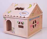 Кукольный домик с росписью, HEGA