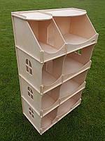 Кукольный домик-шкаф для творчества, HEGA