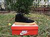 Зимние кроссовки в стиле NIKE Air Force 1 Mid замша мех черные
