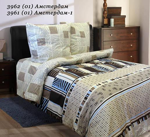 Комплект постельного белья Семейный РУНО 143х215 Бязь 6.114Г_3962 Амстердам, фото 2