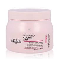 Маска для защиты и сохранения цвета окрашенных волос Vitamino Color A-OX Jelly Mask,  LOreal Professionnel