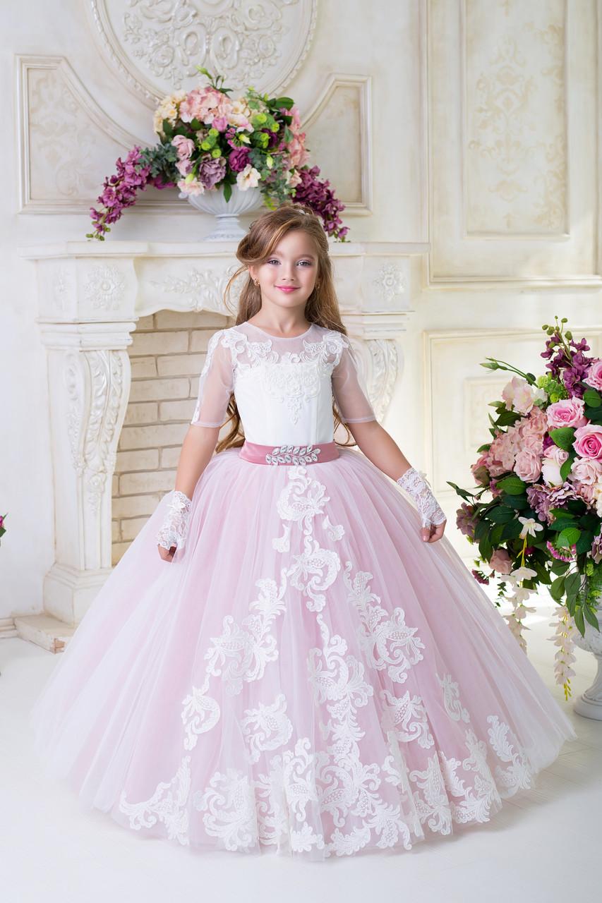 ea903abe7f6 Выпускное платье для девочки D930