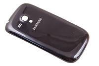 Задняя панель корпуса для мобильного телефона Samsung Galaxy S3 Mini I8190 Black