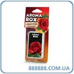 Ароматизатор Aroma box Fouette автопарфюм Алая роза