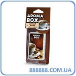 Ароматизатор Aroma box Fouette автопарфюм Черный кофе