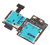 Держатель sim-карты для мобильного телефона Samsung I9505 Galaxy S4 c коннектором карты памяти