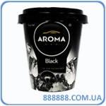 Ароматизатор Aroma стаканчик гель 130 гр Car Cup Gel black - черный