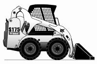 Аренда строительного погрузчика BOBCAT S175