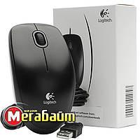 Мышь Logitech B100 USB Black