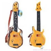 Гитара 4 струны, медиатор, в чехле 49х16х3,5см. 250 А-3 (48) [374142]