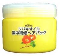 KUROBARA Camellia Oil Concentrated Hair Pack  Интенсивно восстанавливающая маска для повреждённых волос  300 г