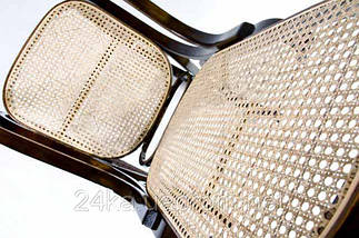 Кресло качалка ореховое сетка , фото 2