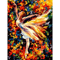 Картина по номерам Балерина без коробки