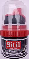 Крем банка черная Ситил Sitil для обуви