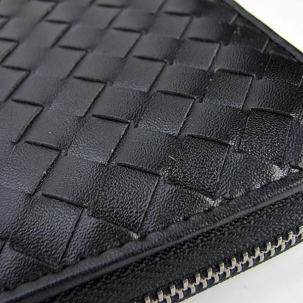 46062e2cf486 ... Стильный кожаный мужской кошелек Bottega Veneta из плетенной кожи  012-1, ...