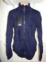 Кофта мужская Lee'Ecosse на змейке, 2 кармана 004/ купить оптом свитер зимний