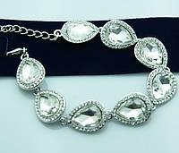 Нежнейший вечерний браслет. Свадебные аксессуары для женщин оптом. 965