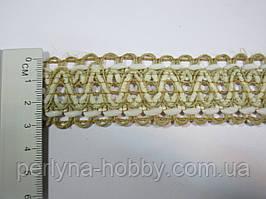 Тасьма декоративна лляна, Тасьма декоративна лляна, ( льон + бавовна ). Ціна за 1 метр