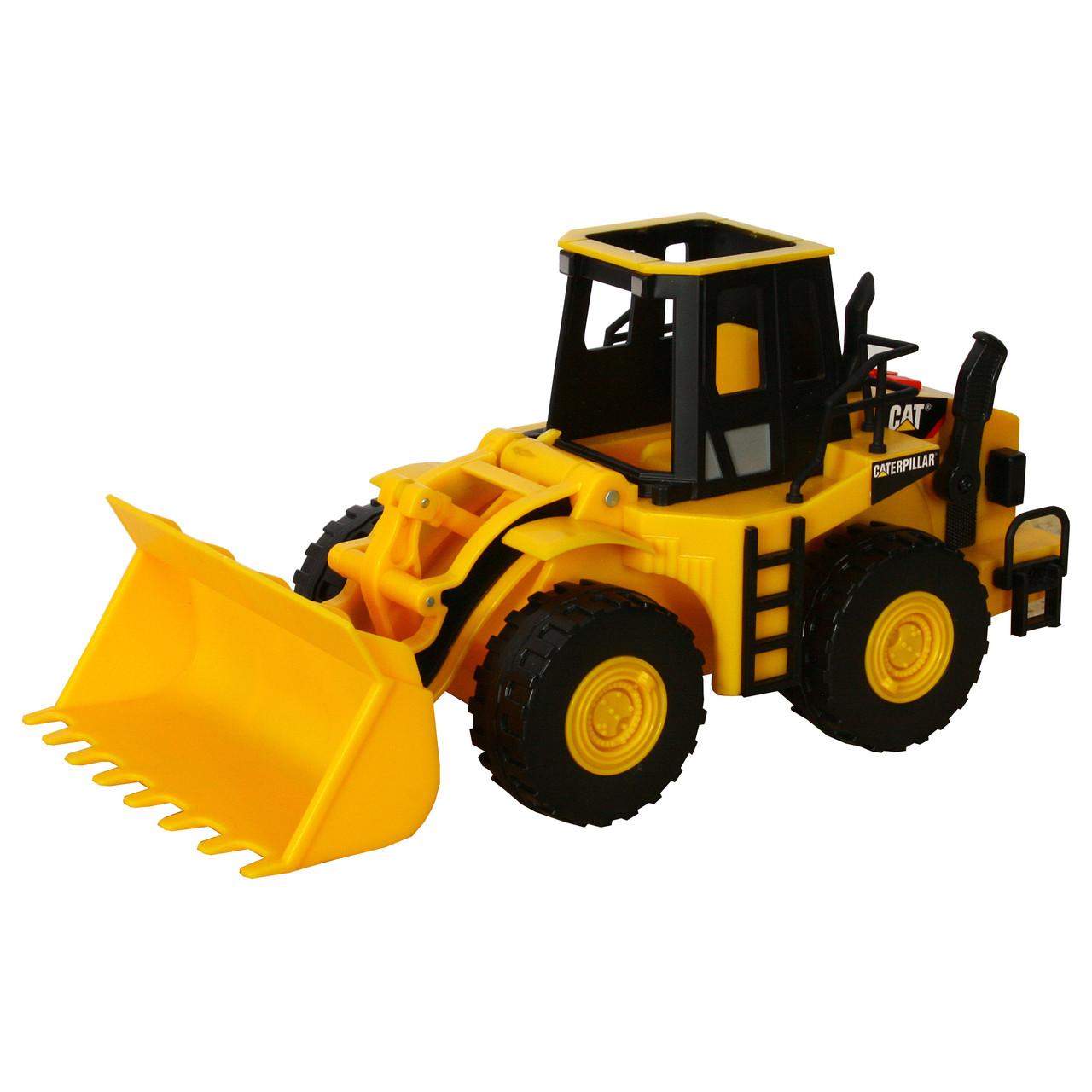 Ковшовый погрузчик CAT, 33 см «Toy State» (35643)