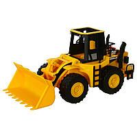 Игрушечные машинки и техника «Toy State» (35643) ковшовый погрузчик CAT, 33 см