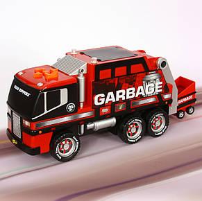 Мусоровоз, 36 см (красный) «Toy State» (30240), фото 2