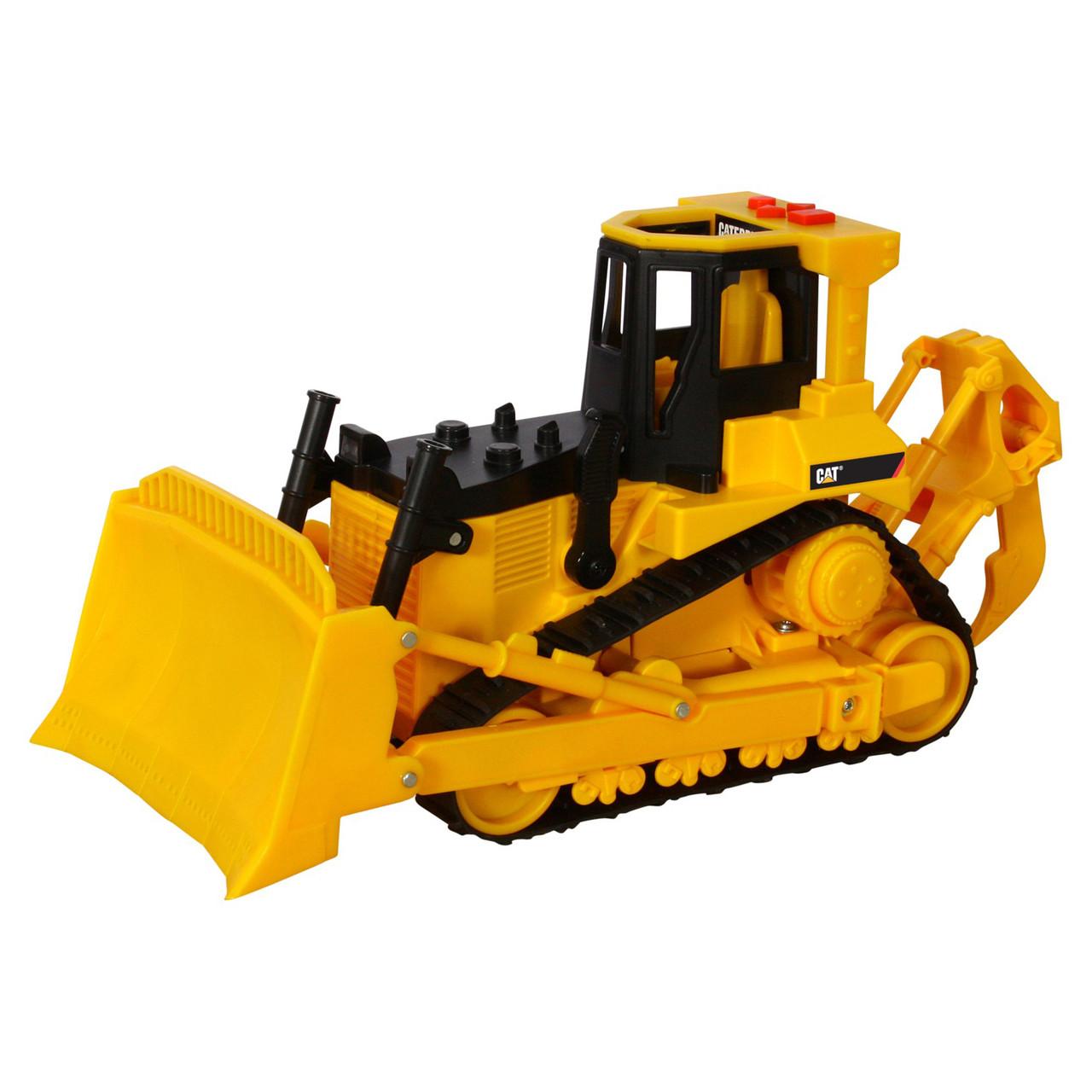 Бульдозер CAT, 33 см «Toy State» (35642)