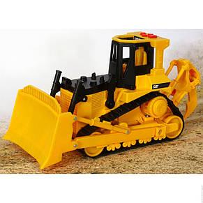 Бульдозер CAT, 33 см «Toy State» (35642), фото 2