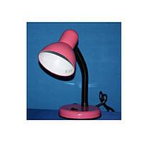 Настольная лампа Е-27; №203 плафон малый max 40w; розовый