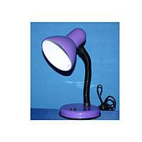 Настольная лампа Е-27; №203 плафон малый max 40w; сиреневый