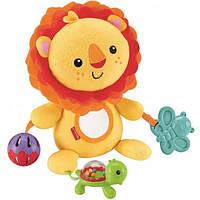 Мягкая игрушка Веселый львенок Fisher-Price