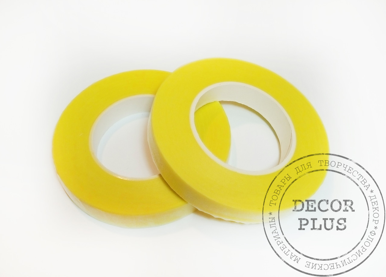 Тейп-лента жёлтая