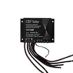 Контроллер заряда C&T Solar Acamar 50 (10А 12\24В)