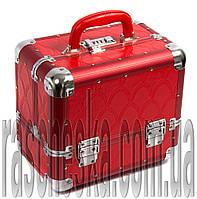 """Кейс для украшений и косметики """"Train case - RED"""""""