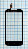 Сенсорный экран для мобильного телефона Lenovo  A378t ,черный