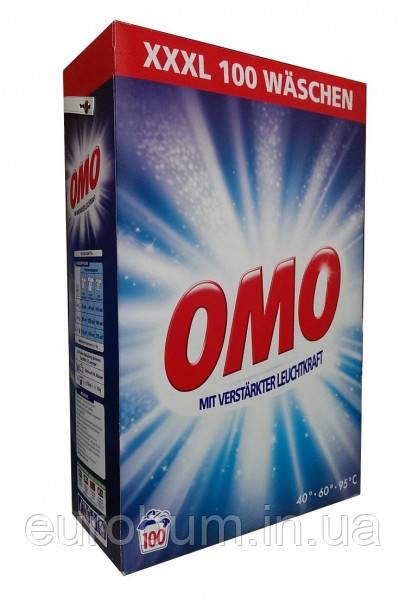OMO пральний порошок універсал 7 кг 100 прань (Німеччина)